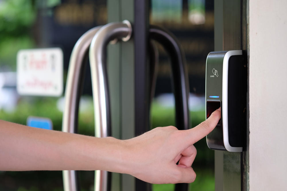 Entry By Biometric Scanning Ensures Your Child's Safety