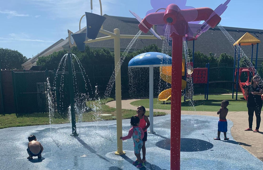 Playgrounds Splash Pad Basketball Court And More